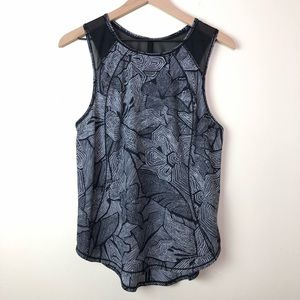 Lululemon Sculpt Mesh Cut Out Tank Dottie Tribe